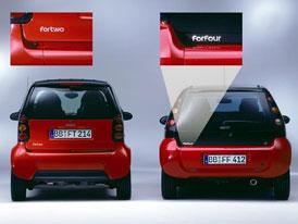 Nové jméno pro City-coupé: Smart ForTwo