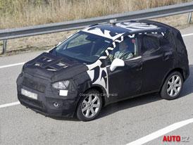 Spy Photos: Opel Corsa SUV � Antara dostane men��ho brat���ka