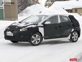 Spy Photos: Druhá generace Hyundaie i30 - První foto