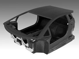 Lamborghini: Karbonový monokok pro nového býka