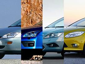 Ford Focus: Design po generacích