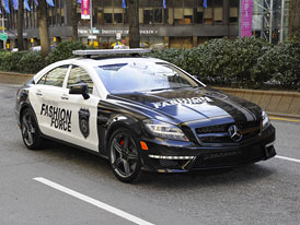 Mercedes-Benz CLS 63 AMG pro módní policii