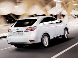 Lexus RX 450h Style Edition: Lepší výbava, nižší ceny