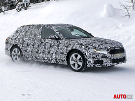 Spy Photos: Audi A6 Avant - premiéra na podzim, na trh v roce 2012