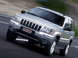 Grand Cherokee 2004: malá vylepšení amerického klasika