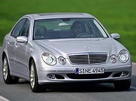 Nový Mercedes třídy E se vrátí domů
