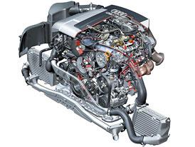 Nový diesel 3.0 TDI V6 pro Audi A8: piezo-premiéra