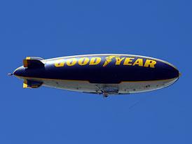 Vzducholod� Good Year po 12 letech zp�t v Evrop�