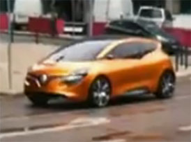 Spy video: Renault R-Space Concept