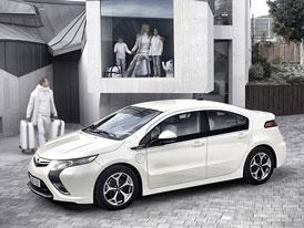 Opel Ampera: Technická data sériového vozu