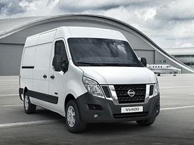 Nissan NV400: Nový užitkový model pro Evropu