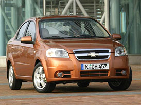 Chevrolet Aveo Sedan: světový Chevy ve Frankfurtu