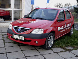 Dacia Logan: velké auto za malé peníze (jízdní dojmy)