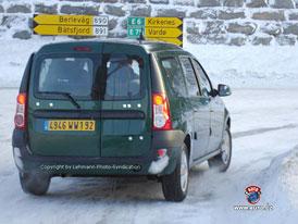 Spy photos: Dacia Logan Kombi