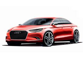 Audi A3 concept: Sedan pro Ženevu