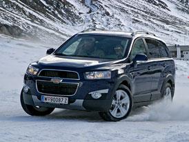 Chevrolet Captiva: První jízdní dojmy