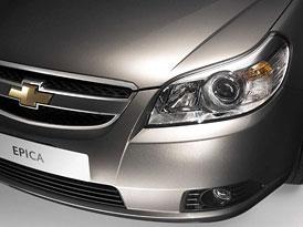 Chevrolet Epica nahradí již brzy Evandu