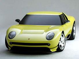 Lamborghini Miura Concept: Walter de Silva se činí