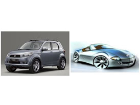 Nové studie Daihatsu: hybridní sporťák a SUV