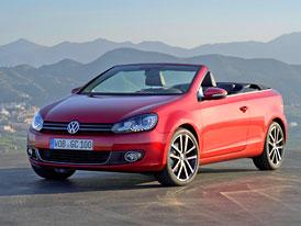VW Golf Cabriolet: S plátěnou střechou potřetí