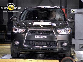 Euro NCAP 2011:  Mitsubishi ASX � P�t hv�zd