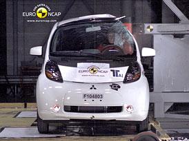 Euro NCAP 2011: Mitsubishi i-MiEV, Citroën C-Zero a Peugeot iOn