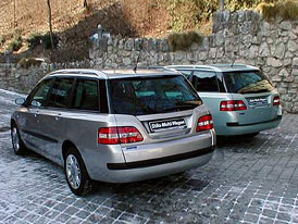 Fiaty Stilo Multi Wagon a Ulysse přicházejí na český trh