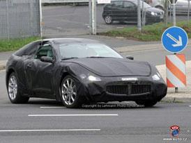 Spy Photos: nové Maserati Coupé GT