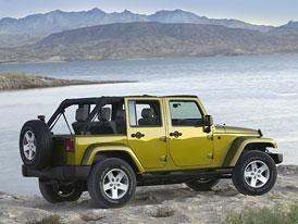 Čtyřdveřový Jeep Wrangler v prodeji také v Evropě