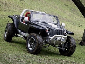 Jeep Hurricane: talentovaný horolezec