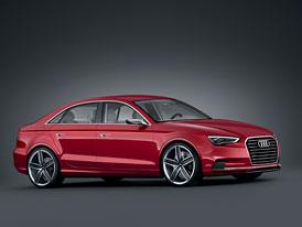 Audi A3 concept: Kompaktní sedan odhalen