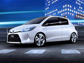 Toyota Yaris HSD Concept: Třetí generace Yarisu jako hybrid