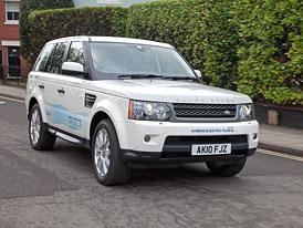 Land Rover Range_e: První dieselový hybrid v roce 2013