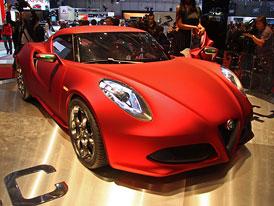 Alfa Romeo 4C: Nejprve jako koncept