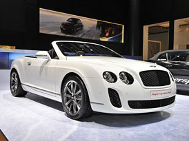 Bentley Continental Supersports ISR: Ledový rekordman v limitované sérii