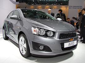 Chevrolet Aveo sedan: První dojmy