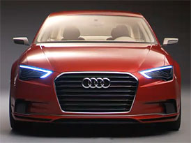 Video: Audi A3 concept – Kompaktní čtyřdveřový sedan