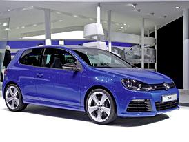 Volkswagen Golf R: Čtyřikrát jinak, ale zatím jen na ukázku