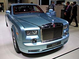 Rolls-Royce v Ženevě: Elektrifikaci vstříc