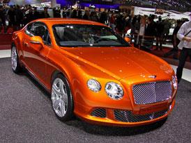 Bentley v Ženevě: Nejrychlejší kabriolet světa