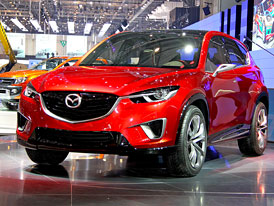 Mazda v Ženevě: Zoom-zoom v nové formě