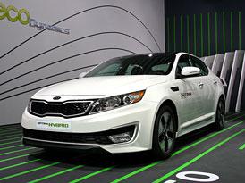 Kia v �enev�: Picanto, Rio, Optima Hybrid a nov� turbomotory