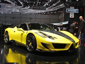 Mansory v �enev�: SLS a 458 Italia v karbonu