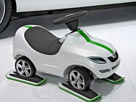 Škoda v Ženevě: Vision D, Superb 2012, nové logo a Fabia Monte Carlo