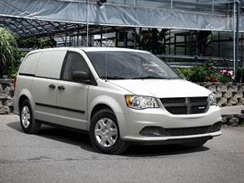 Ram Cargo Van: Užitkový Dodge Grand Caravan