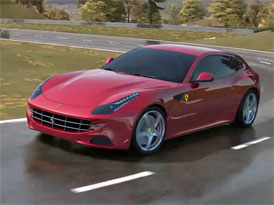 Ferrari FF: První nehoda na videu magazínu CAR
