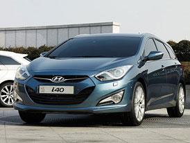 Český trh v srpnu 2011: Hyundai i40 mezi nejlepšími ve střední třídě