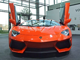 Lamborghini Aventador: První dojmy z Wolfsburgu +zvuk motoru V12
