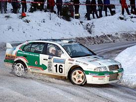 Škoda Motorsport na švédské rallye