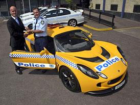 Lotus Exige pro australskou policii